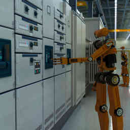 AI industrial robots